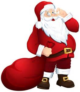 santa claus with bag png clipart image gallery
