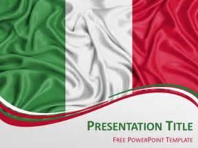 Bullet Lights Italy Flag Powerpoint Template Presentationgo Com