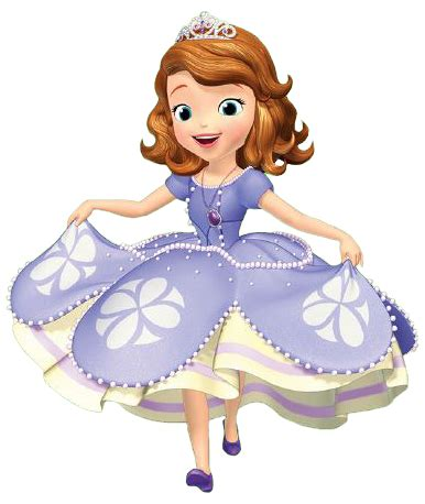 sophia the first clipart