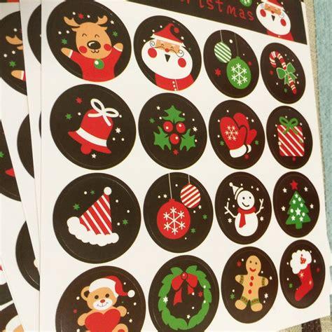 Label Sticker Merry 160pcs diy scrapbooking merry gift sticker cookie cake gift labels stickers kitchen