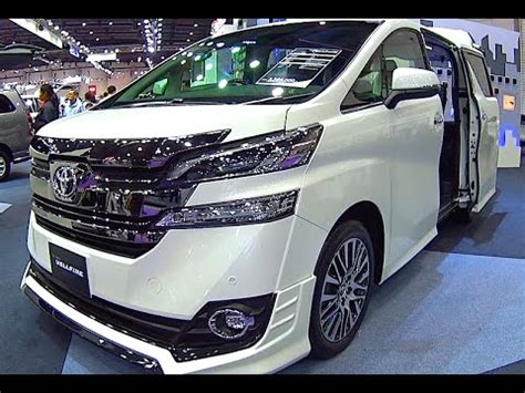 toyota vellfire 2017, 2016 video review new generation