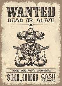 volere template free 18 western wanted poster templates free printable