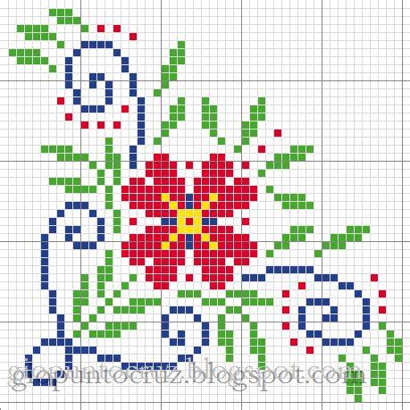 imagenes flores en punto de cruz imagenes de flores de punto de cruz buscar con google