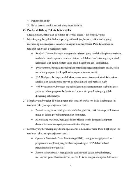 membuat makalah etika profesi makalah etika profesional komputer