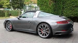 Porsche Targa 4s Porsche 991 Targa 4s My17