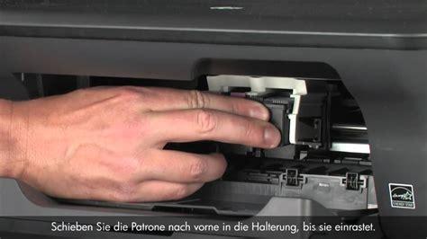 reset cartucho hp deskjet 2050 auswechseln einer patrone hp deskjet 2050 all in one