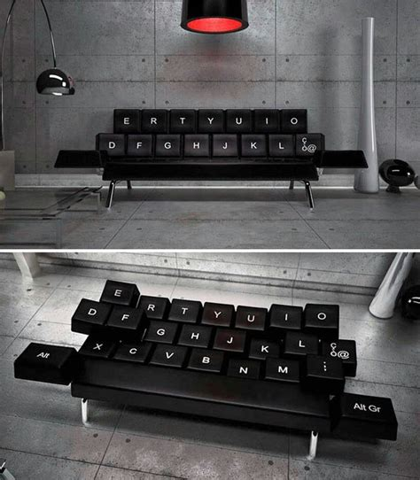 couch gaming keyboard pc gamer sofa i want this gaming stuff pinterest