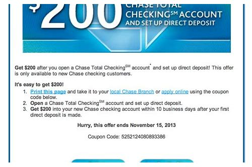 chase coupon account