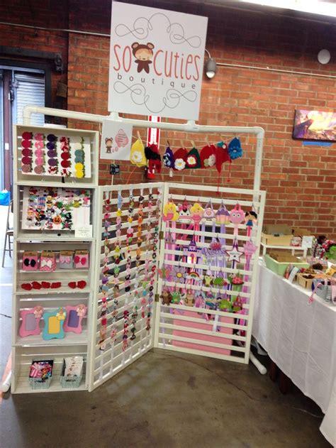craft show display hip girl boutique llc free hair bow 27 b 228 sta bilderna om vendor hair bow display ideas p 229