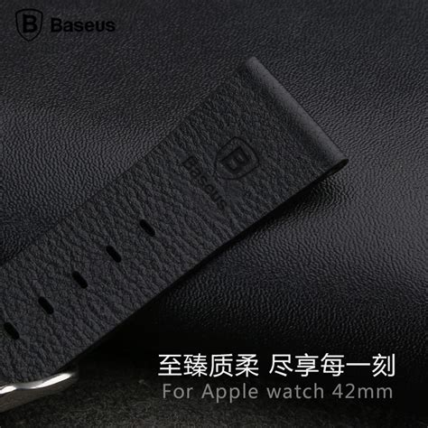 Apple 42mm Kulit baseus classic real leather band for apple 42mm series 1 2 black jakartanotebook