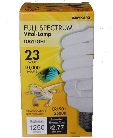 vital l full spectrum light for birds vl 2 vital l full spectrum light for birds 23w new