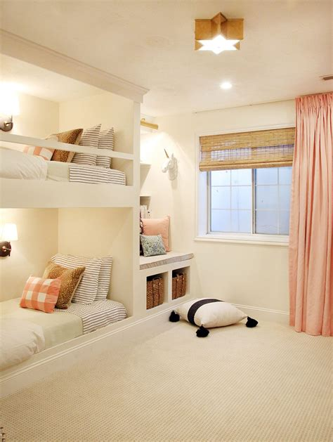 young girls beds the reveal a shared girls room complete with built in