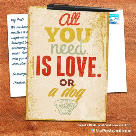 Postcard Quotes