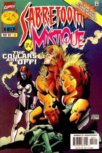 sabretooth and mystique vol 1 4 marvel comics database mystique sabretooth volume comic vine