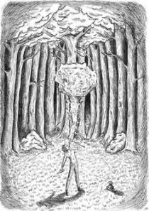 "Nixie from Cornelia Funke ""Inkspell"" | My illustrations"
