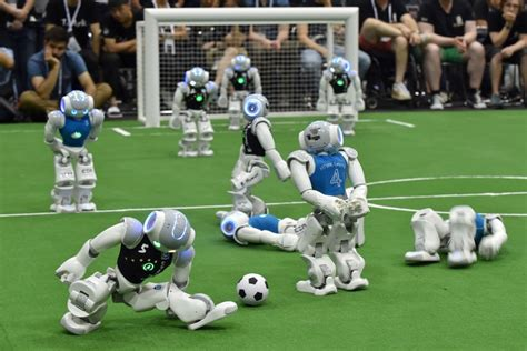 Dribling Robot Soccer Robot robocup 2017 wrap up highs lows plenty of falls cosmos