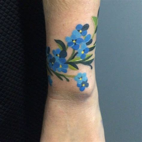 forget me not tattoos unisex on instagram forgetmenottattoo