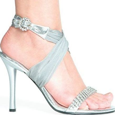 Silver Wedding Shoes by Silver Wedding Shoes Sang Maestro