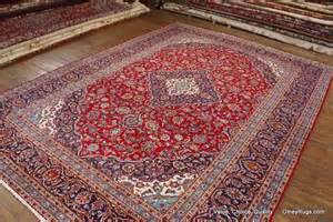 Green And Navy Rug Persian Kashan Rugs For Sale Olney Rugs