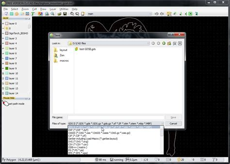 free gdsii layout editor how to convert dxf to gdsii with layouteditor 2014