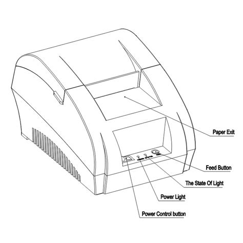 Taffware Pos Thermal Printer 57 5mm Zj 5890k Murah taffware pos thermal receipt printer 57 5mm zj 5890k black jakartanotebook