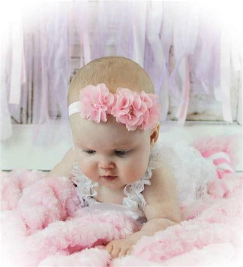 baby headbands easter headbandbaby headband baby flower pink baby headband flower headband newborn