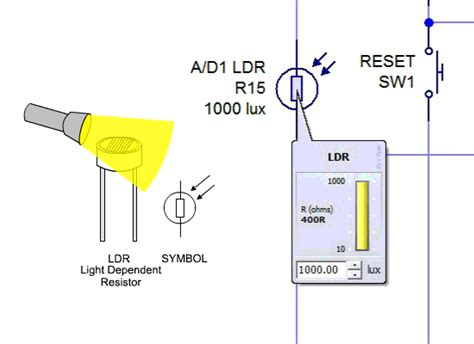 light dependent resistor theory pdf using analogue input light dependent resistor
