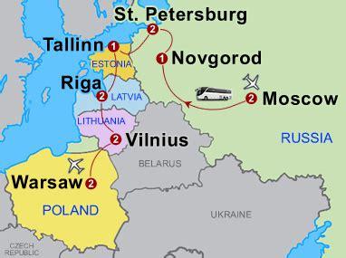 russia baltic  warsaw