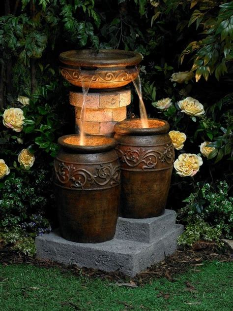 patio water garden 20 stunning garden water fountains that will your mind