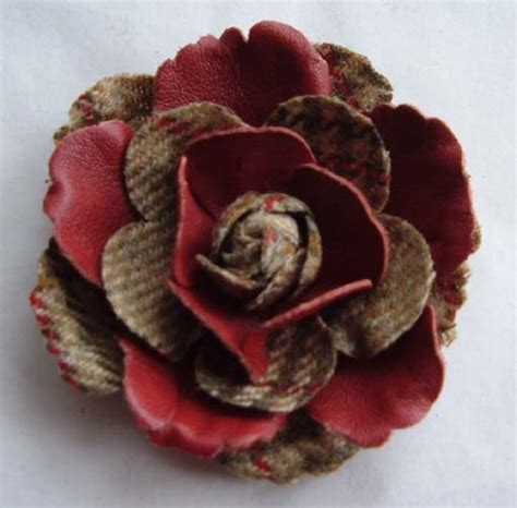 Tweed Corsage Bag From Accessorize by Handcrafted Tweed Corsage Flowers