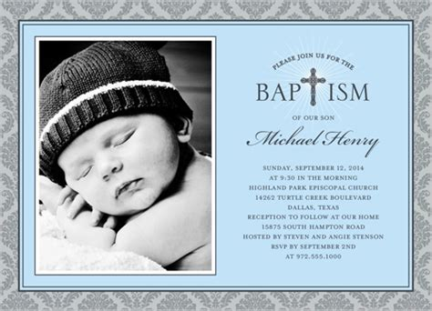 layout design for baptismal invitation radiant cross boy baptism invitation baptism invitations