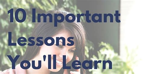 8 life lessons you ll learn from working on your car 10 important lessons you ll learn during your college internship when life gives you rubi
