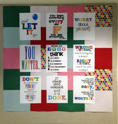 Office Bulletin Board Ideas High School Guidance Office Easy Bulletin Board Idea