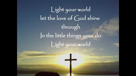 In Your Light Lyrics by Light Your World Newsong With Lyrics