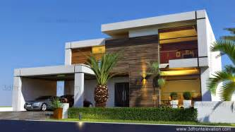 Exterior Home Design 2016 3d Front Elevation Beautiful Contemporary House