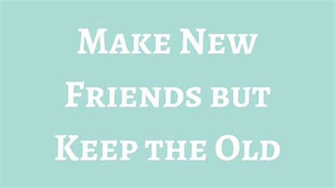 Makes New Friends by Make New Friends But Keep The Pretty By Post