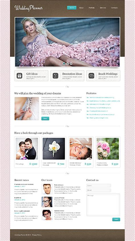 Template After Effect Tema Wedding Paket 7 reszponz 237 v weboldal sablon 37765