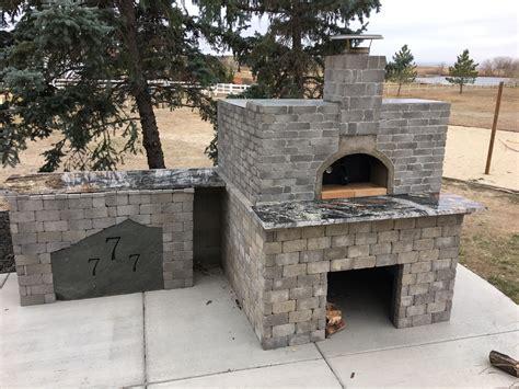 casa home pizza oven outdoor installation gallery forno