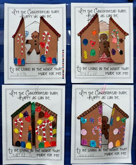 jan brett printable christmas cards gingerbread baby jan brett librarian stuff pinterest