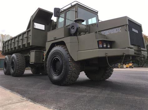 general contractor ta terex 3066 ta25 army articulated dumper 6x6 multilift