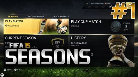 reset online seasons fifa 15 fifa 15 seasons 1 starting off strong youtube