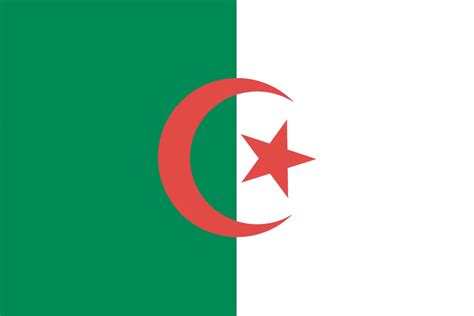 algeria country flag meaning of algerian flag