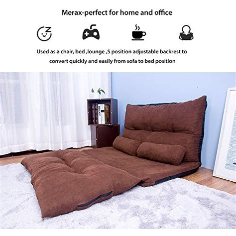 Merax Adustable Foldable Modern Leisure Sofa Bed Video Gaming Sofa Bed