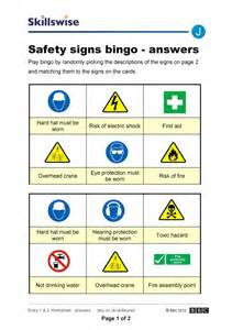 Safety Signs Worksheets by Safety Sign Worksheets Lesupercoin Printables Worksheets