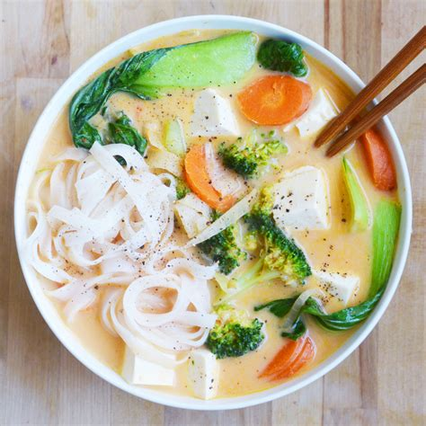 My Favorite Curry Noodles by Coconut Curry Noodle Soup My Favorite Takeout Copycat
