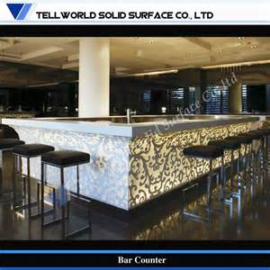 Commercial Bar Counter Tw Led Lighting Design Artificial Commercial Bar