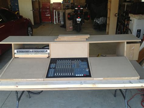 Diy Mixing Desk Pdf Diy Mixing Desk Plans Murphy Bed Bunk Beds Furnitureplans
