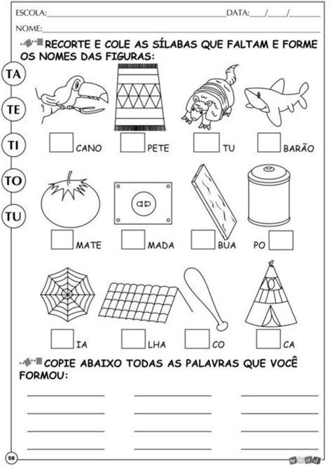 Alfabetização Silábica Tindolelê - 1ºano 5 A 6 Anos