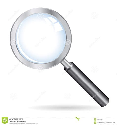 illustrator tutorial magnifying glass magnifying glass icon vector illustration royalty free