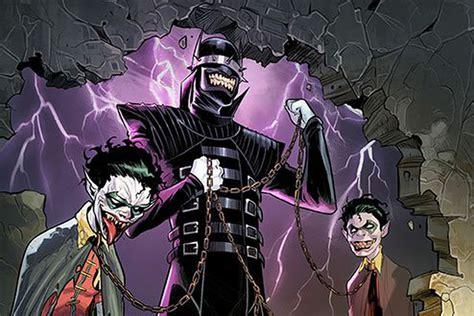nights metal knights rising nights the nightmare batmen dc s nightmare batman a batman joker hybrid is